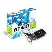 Placa de Video Nvidia  GT 610 2GB DDR3 Low Profile N610-2GD3/LP - MSI