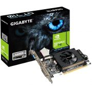 Placa de Vídeo NVIDIA GT 710 2GB Low Profile DDR3 64 Bits GV-N710D3-2GL REV. 2.0 - Gigabyte