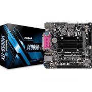 Placa Mãe ITX com Processador Intel Dual Core 2.7GHz Integrado DDR4 HDMI/VGA J4005B-ITX - Asrock