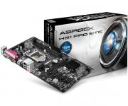 Placa Mãe LGA 1150 H81 Pro BTC DDR3 HDMI/VGA USB 3.0 5 PCI-E - Asrock