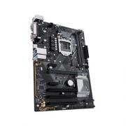 Placa Mãe LGA 1151 8ª Geração com Iluminação LED H310-PLUS DDR4, M.2, HDMI, USB 3.1 - Asus