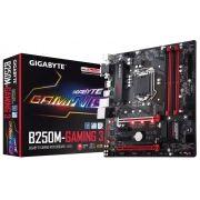Placa Mãe LGA 1151 GA-B250M-Gaming 3 DDR4 USB 3.1 - Gigabyte