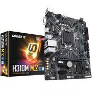 Placa Mãe LGA 1151 H310M M.2 DDR4 - Gigabyte