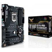 Placa Mãe LGA 1151 TUF H370-PRO Gaming DDR4 - Asus