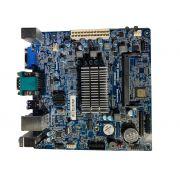 Placa Mãe + Processador Celeron Dual Core J1800 HDMI DDR3 IPX3060E1- Pcware