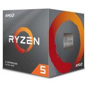 Processador AM4 Ryzen 5 3600X 3.8GHz (4.4GHz Max Turbo) Cache 35MB 100-100000022BOX - AMD