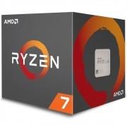 Processador AM4 Ryzen 7 2700 c/ Wraith Spire Cooler, Octa Core, Cache 20MB, 3.2GHz YD2700BBAFBOX - AMD