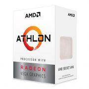 Processador Athlon 3000G Dual Core 3.5Ghz 5MB AM4 YD3000C6FHBOX - AMD