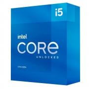 Processador LGA 1200 Core i5 11600K 11ª Geração Cache 12MB 3.9 GHz BX8070811600K - Intel