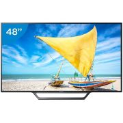 Smart TV LED 48 Full HD KDL-48W655D Conversor Digital Wi-Fi 2 HDMI 2 USB DLNA - Sony