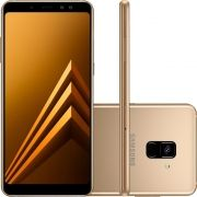 Smartphone Galaxy A8 Plus SM-A730F, Octa Core 2.2Ghz, Android 7.1, Tela 6 Super AMOLED, 64GB, 16MP, 4G, Dourado - Samsung