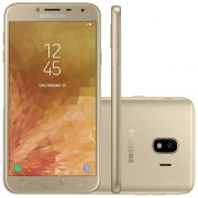 Smartphone Galaxy J4 SM-J400MZKKZTO, Quad Core, Android 8.0,Tela 5.5, 32GB, 13MP, Leitor Digital, Dual Chip, Dourado - Samsung