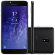Smartphone Galaxy J4 SM-J400MZKKZTO, Quad Core, Android 8.0,Tela 5.5, 32GB, 13MP, Leitor Digital, Dual Chip, Preto - Samsung
