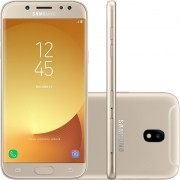 Smartphone Galaxy J5 Pro SM-J530G/DS, Octa Core, Android 7.0, Tela 5.2, 32GB, 13MP Frontal com Flash, Leitor Digital, Dual Chip, Dourado - Samsung