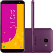 Smartphone Galaxy J6, 32GB, 13MP, Tela 5.6, TV Digital, Violeta SM-J600GZ - Samsung