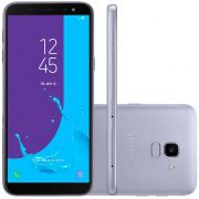 Smartphone Galaxy J6 SM-J600GZKBZTO, Octa Core, Android 8.0,Tela 5.6, 32GB, 13MP, TV Digital HD, Dual Chip, Prata - Samsung