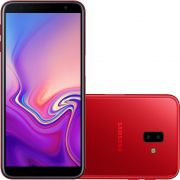 Smartphone Galaxy J6+ SM-J610G/32DL, Quad-Core, Android 8.1, Tela 6, 32GB, 13+5MP, 4G, Dual Chip Vermelho - Samsung
