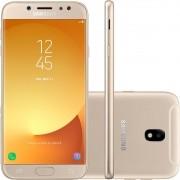 Smartphone Galaxy J7 Pro SM-J730G Android 7.0 Tela 5.5 Octa-Core 64GB 4G Wi-Fi Câmera 13MP Dourado - Samsung