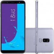 Smartphone Galaxy J8 SM-J810MZVKZTO, Octa Core, Android 8.0,Tela 6, 64GB, 16MP+5MP, Frontal 16MP c/ Flash, Dual Chip, Prata - Samsung