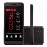 Smartphone Go! 5c 16GB 8MP Tela 5 Preto - Semp