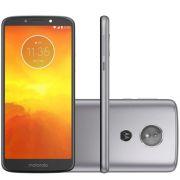 Smartphone Moto E5 XT1944 Platinum com 16GB, Tela 5.7, Dual Chip, Android 8.0, 4G, Câmera 13MP, Processador Quad-Core e 2GB de RAM - Motorola