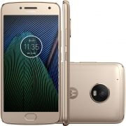Smartphone Moto G5 Plus TV Digital XT1683 Octa Core Android 7.0, Tela 5.2, 32GB, 12MP, 4G, Dual Chip Dourado - Motorola