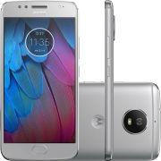 Smartphone Moto G5 S XT1792 Octa-Core Android 7.1, Tela 5.2, 32GB, 16MP, 4G, Dual Chip Prata - Motorola