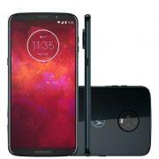 Smartphone Moto Z3 Play XT1929 Octa Core, Android 8.1, Tela 6, 64GB, 12+5MP, 4G. Dual Chip, Indigo - Motorola