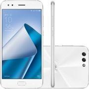 Smartphone Zenfone 4 ZE554KL-6B057BR Octa Core, Android 7, Tela 5,5, 64GB, 4GB RAM, 12MP, 4G, Dual Chip Branco - Asus
