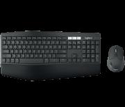 Teclado e Mouse Sem Fio Bluetooth Ergonômico Perfomance MK850 (Padrão US) - Logitech
