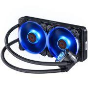 Water Cooler NIX 240mm Mangueiras de Nylon e LED RGB PWC240H40PTRGB 28203 - Pcyes
