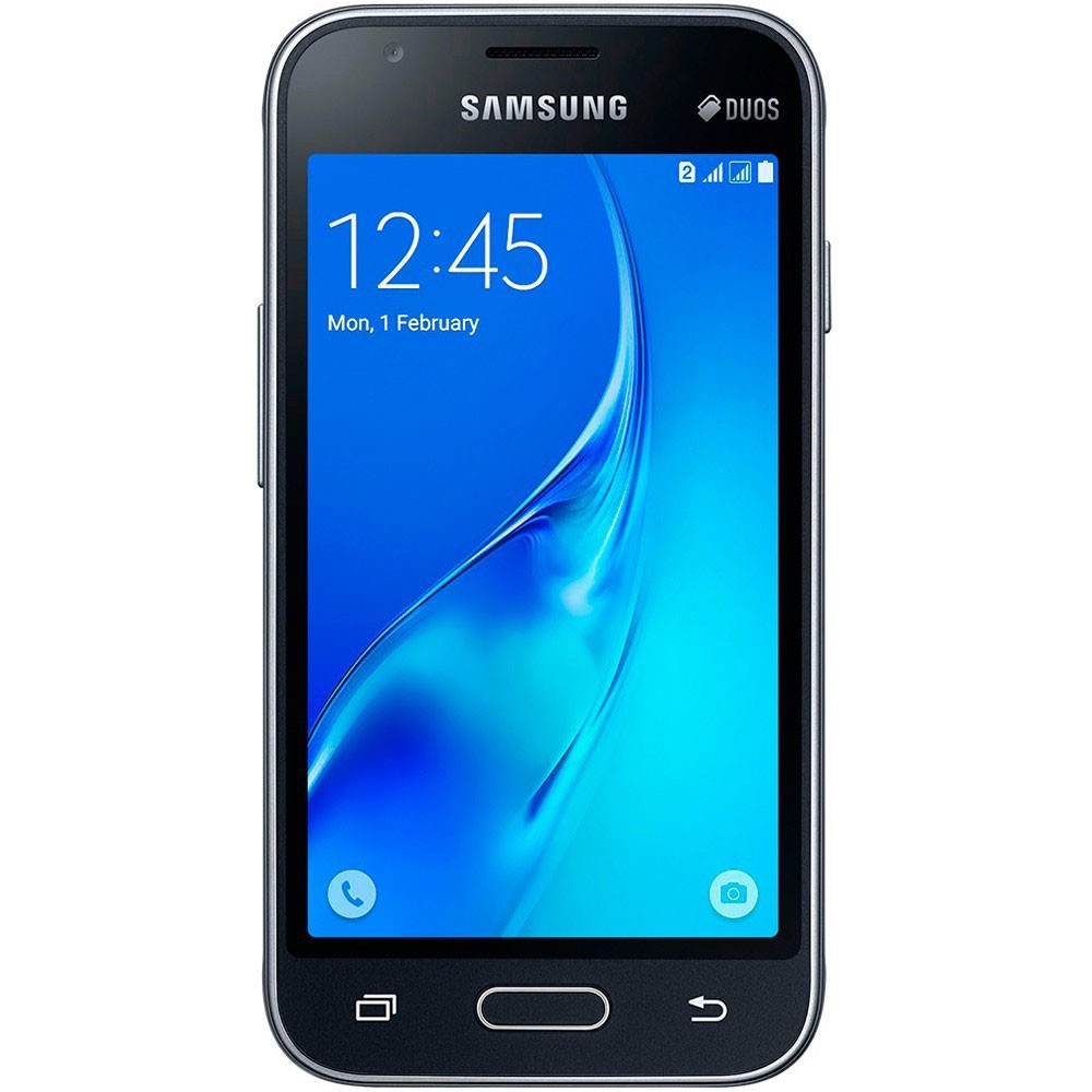 Smartphone Galaxy J1 Mini Duos SM-J105B/DL, Quad Core 1.2 Ghz, Android 5.1, Tela 4, 8GB, 5 MP, 3G, Preto - Samsung
