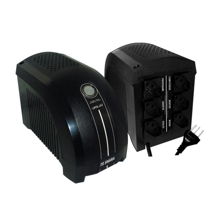 Nobreak UPS Mini 600VA Bivolt Preto 4003 - TS Shara