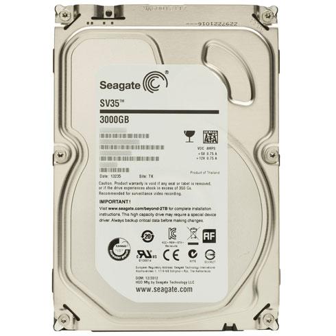 Hard Disk 3TB 7200RPM 64MB SATA III SV35 ST3000VX000 Ideal p/Sistema de Segurança - Seagate