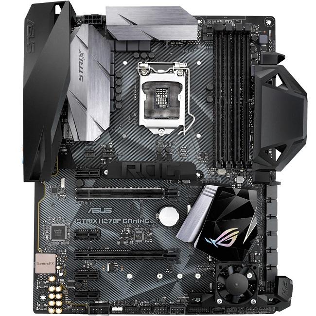 Placa Mãe LGA 1151 ROG Strix H270F Gaming, DDR4, Aura, Áudio Gamer,Rede Intel,USB 3.1 Tipo A e C - Asus