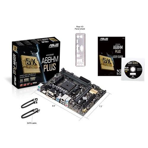 Placa Mãe FM2+ A68HM-Plus (S/V/R) - Asus