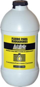 Fluido para Radiadores Automotivos (Anticorrosivo/Antifervura) 01 Litro - Autobelle