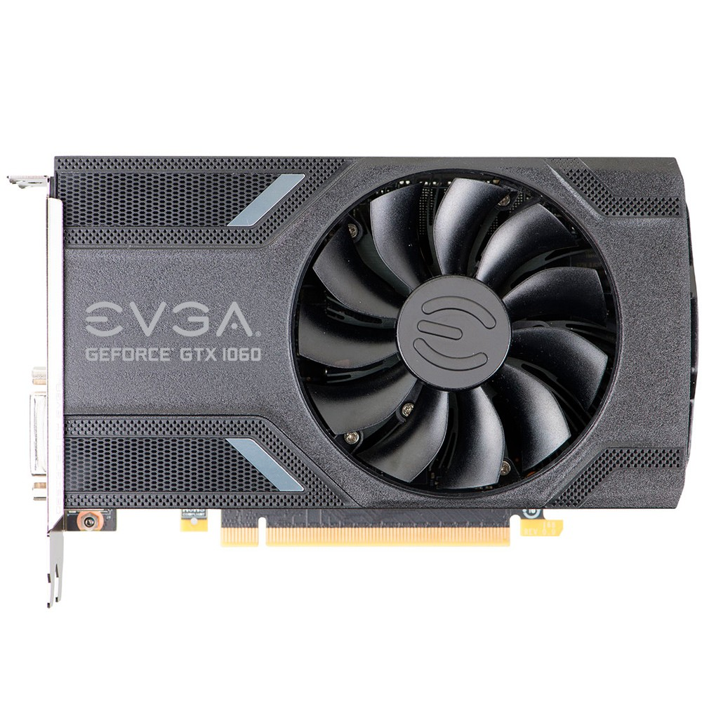 Placa de Vídeo Geforce GTX 1060 6GB DDR5 06G-P4-6161-KR - EVGA