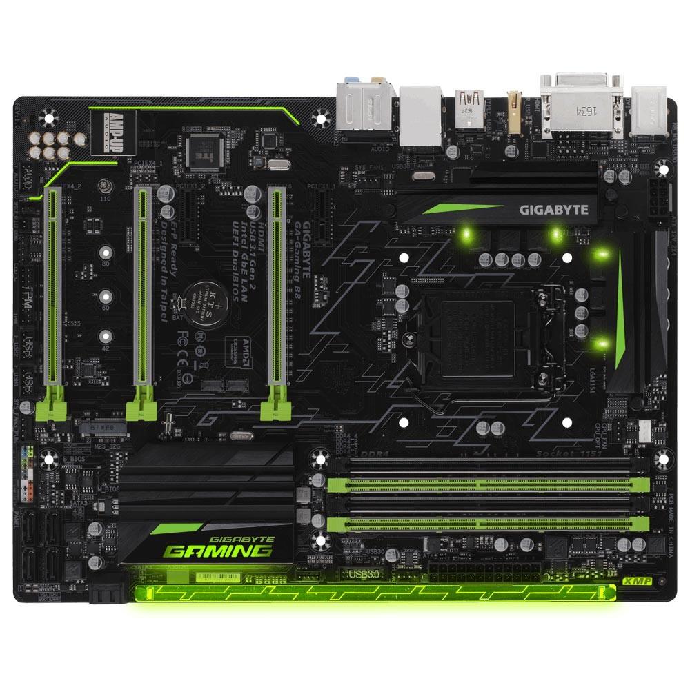 Placa Mãe LGA 1151 GA-Gaming B8 B250, DDR4 - Gigabyte