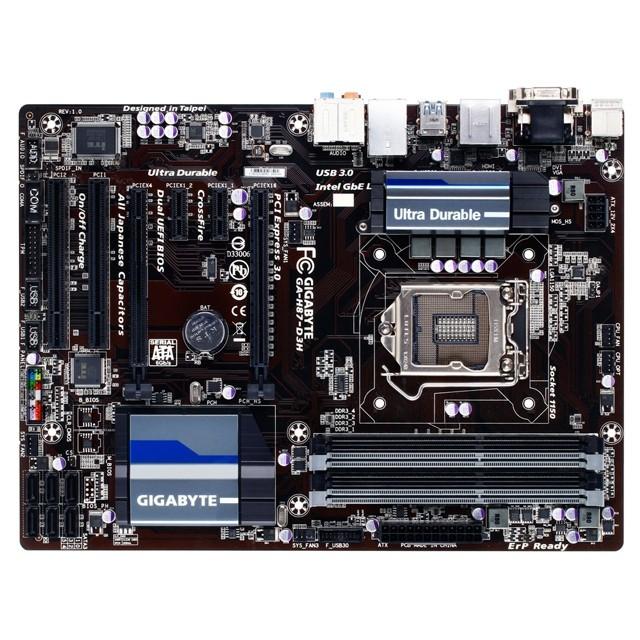 Placa Mãe LGA 1150 GA-H87-D3H (S/V/R) - Gigabyte