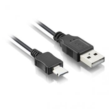 Cabo micro USB 5 Pinos Macho - USB Macho WI226 - Multilaser