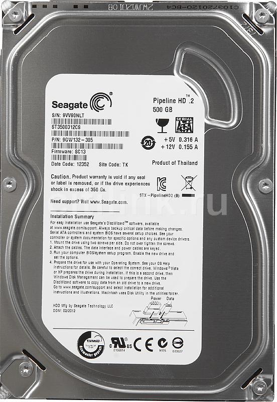 Hard Disk 500GB Sata II Pipeline ST3500312CS - Seagate