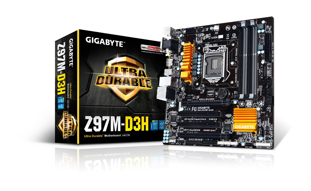 Placa Mãe LGA 1150 GA-Z97M-D3H (S/V/R) - Gigabyte