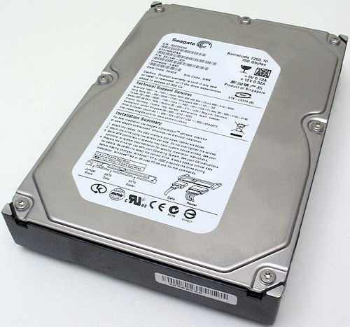 Hard Disk 750GB Sata II 7200RPM 16MB ST3750640NS (Importado) - Seagate