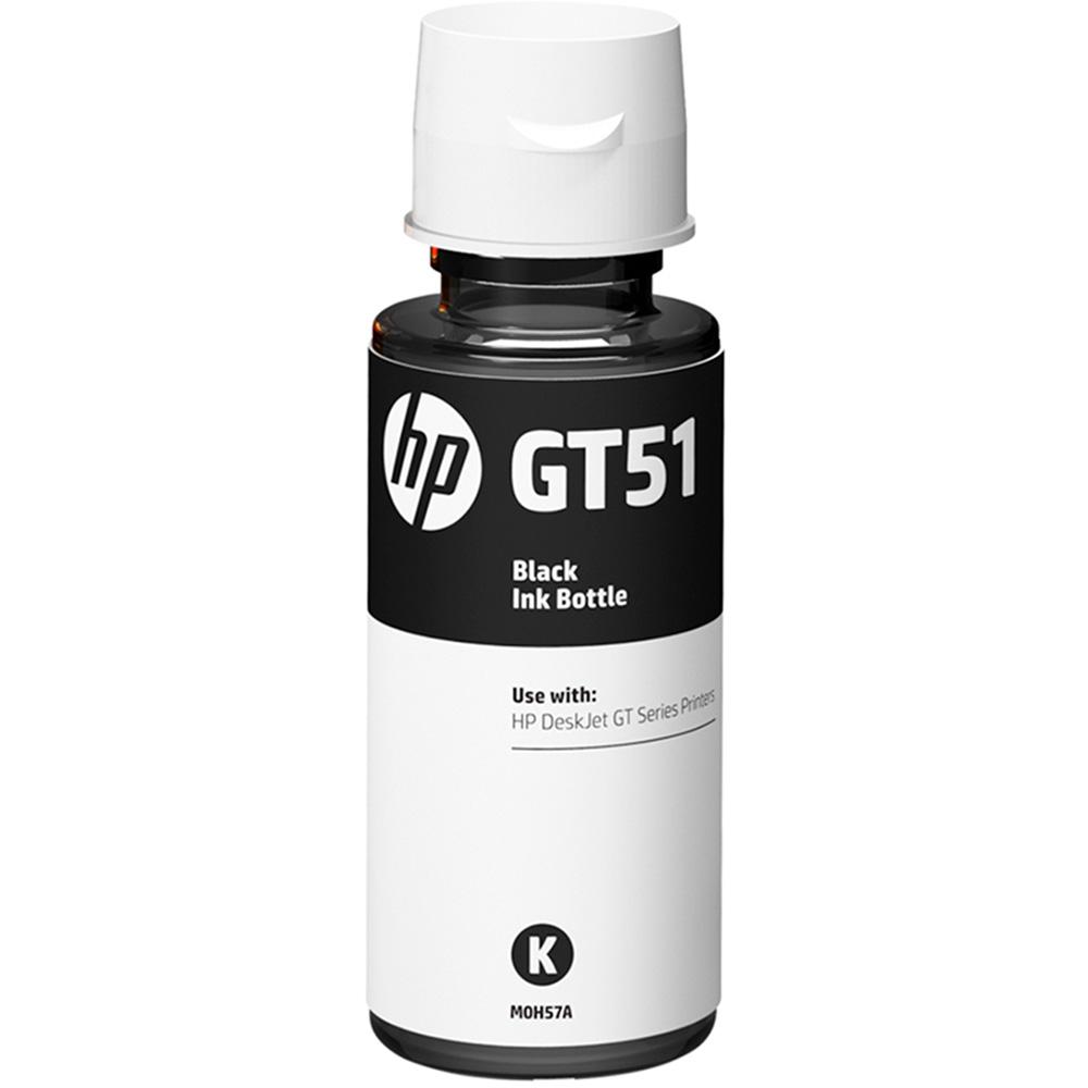 Garrafa de Tinta GT51 Preto M0H57AL 90ml - HP