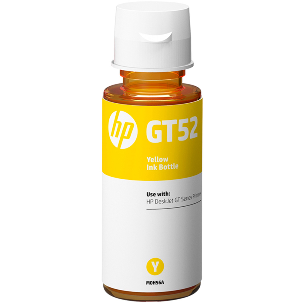 Garrafa de Tinta GT52 Amarelo M0H56AL 70ml - HP