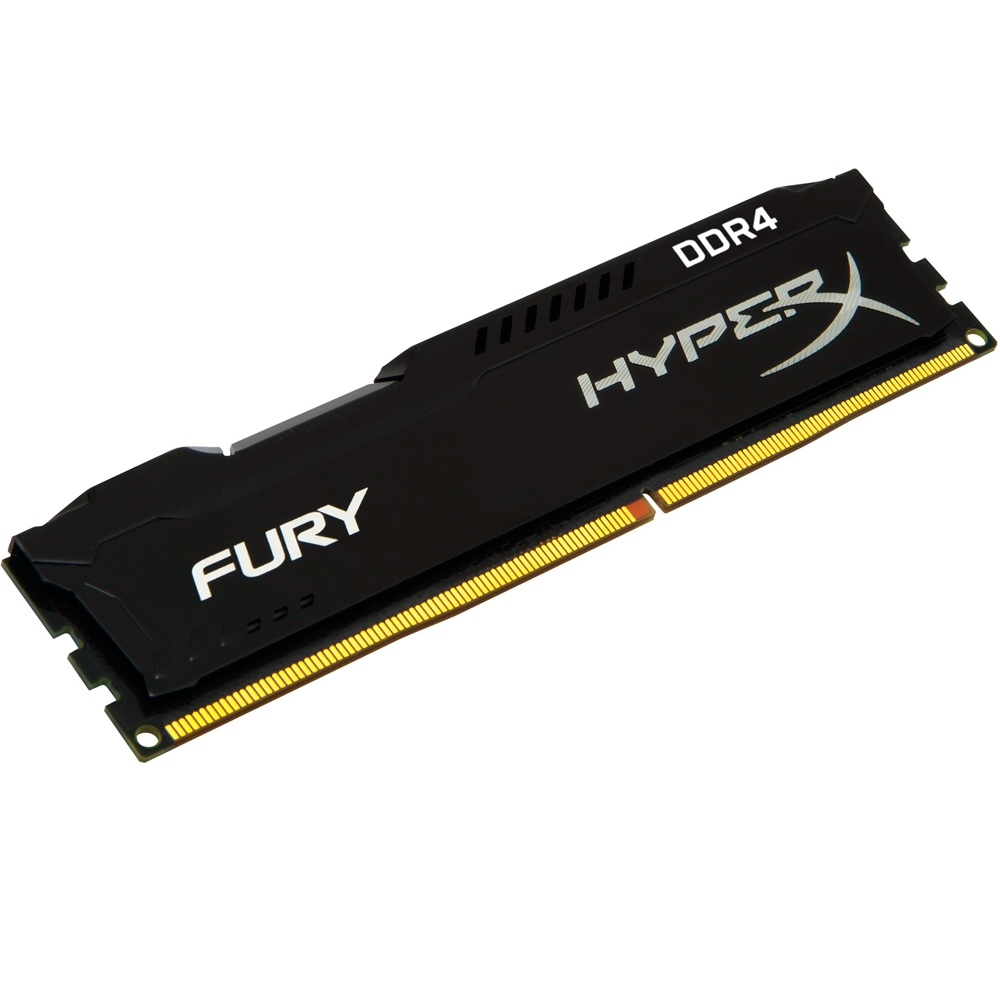 Memória HyperX FURY 4GB 2400Mhz DDR4 CL15 Black Series HX424C15FB/4 - Kingston
