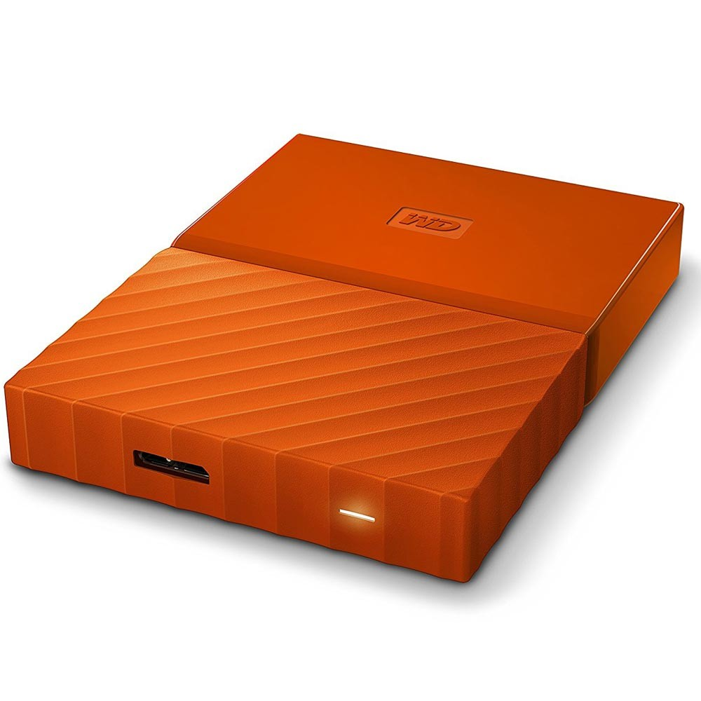 HD Externo Portátil My Passport USB 3.0 1TB Laranja WDBYNN0010BOR - Western Digital