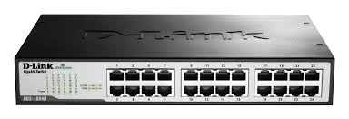 Switch 24 Portas 10/100/1000Mbps DGS-1024D - Dlink