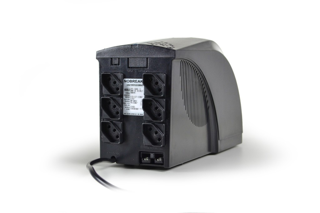Nobreak UPS Soho II 1000VA 1 Bateria BIV saída 115v 4021 - Tsshara